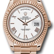 Rolex Day-Date 40 Rose gold 40mm Brown United States of America, New York, New York