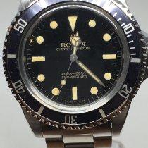 Rolex 5513 Staal 1963 Submariner (No Date) 40mm tweedehands