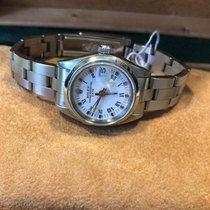 Rolex Oyster Perpetual Lady Date Acier 26mm Blanc