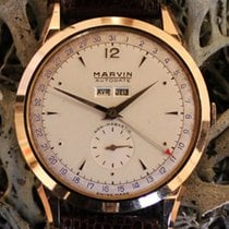 Marvin Rose gold 38mm Manual winding pre-owned
