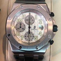 Audemars Piguet Royal Oak Offshore Chronograph Acier 42mm Argent Arabes Belgique, Bruxelles