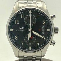 IWC Pilot Spitfire Chronograph Otel 43mm Argint Arabic