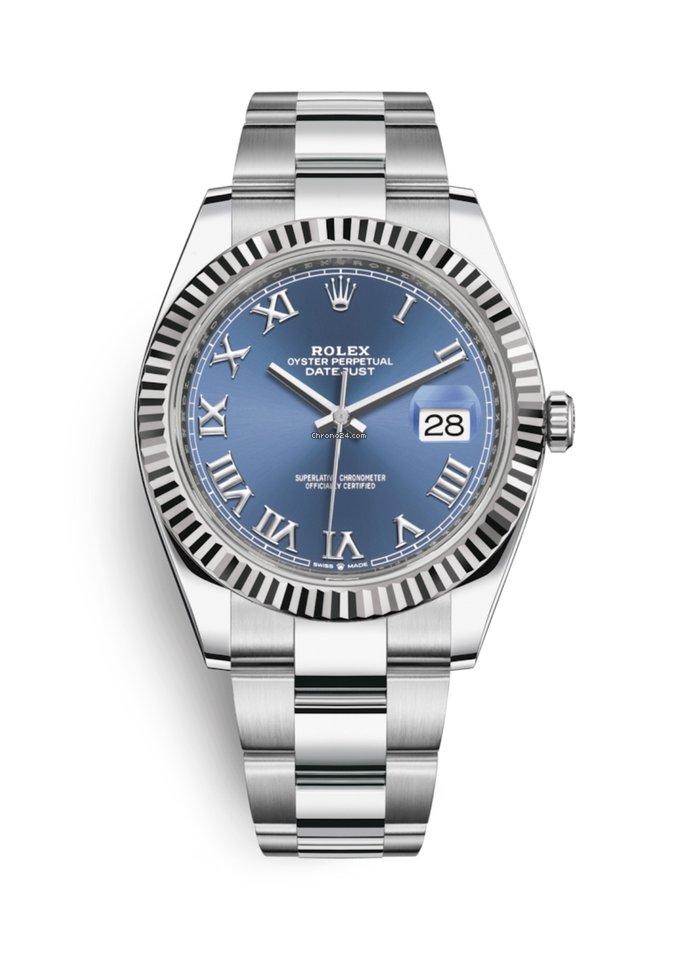 Rolex Datejust 41mm Basel Release Blue Roman 2019