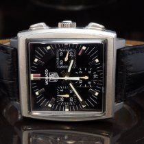 TAG Heuer Monaco Steel 38mm Black No numerals United Kingdom, Essex