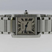 Cartier Tank Française Steel 20mm White Roman numerals United States of America, New York, Massapequa Park