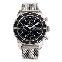 Breitling Superocean Héritage Chronograph Steel 46mm Black United States of America, New York, New York