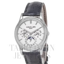 Patek Philippe Perpetual Calendar White gold 37mm Silver United States of America, New York, Hartsdale