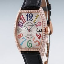 Franck Muller Rose gold 32mm Automatic 5850SC pre-owned