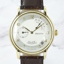 Zenith Yellow gold 36mm Manual winding 30.0240.655 pre-owned
