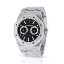 Audemars Piguet Royal Oak Day-Date Ατσάλι 39mm Μαύρο