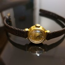 Omega De Ville Ladymatic Or jaune 17mm Sans chiffres France, Paris