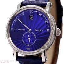 Chronoswiss Delphis Blue Dial Ref-CH1423 Jump Hour Retrograde...