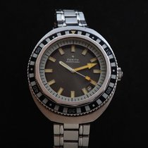 Zenith Steel Automatic Grey 44mm pre-owned
