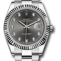 Rolex Datejust Dark Rhodium Diamond Dial