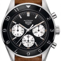 TAG Heuer Autavia Steel 42mm Black United States of America, New York, Airmont