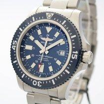 Breitling Superocean 44 Stahl 44mm Blau Deutschland, Sulzfeld