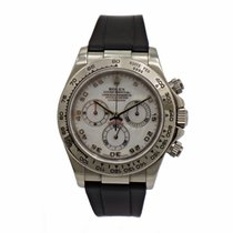 Rolex Daytona White Gold Mother of Pearl (MOP) dial