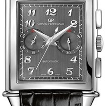 Girard Perregaux Vintage 1945 new Automatic Chronograph Watch with original box