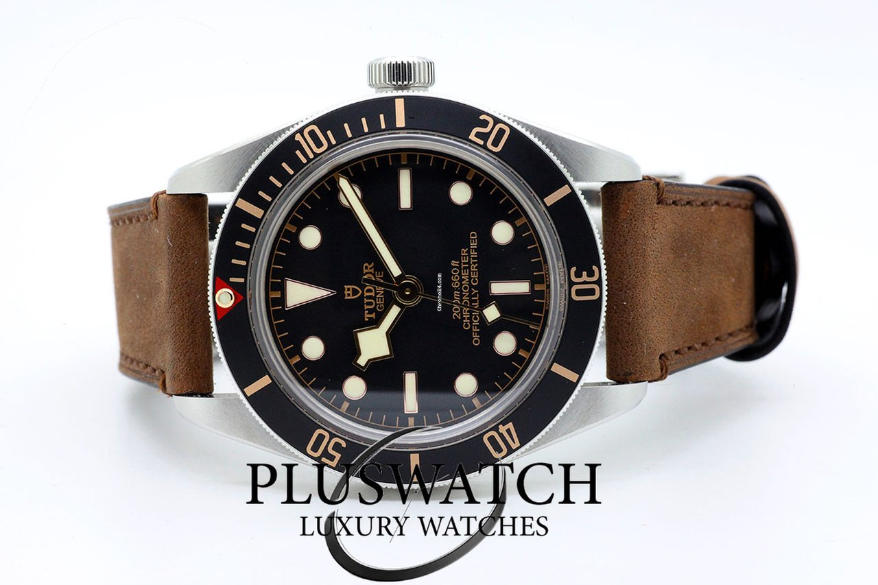 Tudor Heritage Black Bay Fifty-Eight 39mm 79030N Leather for  3 a37e9cdeea