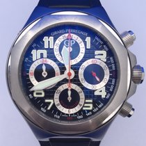 Girard Perregaux 80180 Steel Laureato 48.2 MMmm pre-owned United States of America, California, Woodland Hills