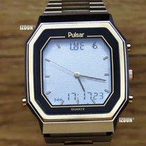 Pulsar World Time Chronograph Analog Digital / Inkl. Mwst