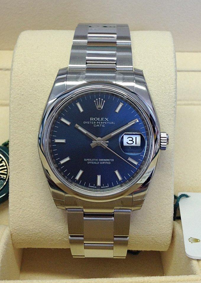 78af4c7d431 Precio de relojes Rolex Oyster Perpetual Date en Chrono24