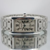 Cartier Tank Américaine pre-owned 23mm White gold