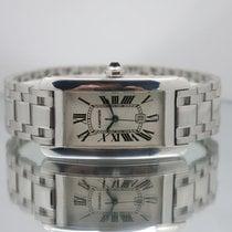 Cartier Tank Américaine White gold 23mm White Roman numerals