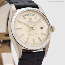 Rolex Day-Date 36 White gold 36mm Silver No numerals United States of America, California, Beverly Hills