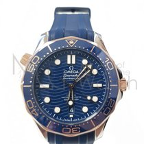 Omega 210.22.42.20.03.002 Goud/Staal Seamaster Diver 300 M 42mm