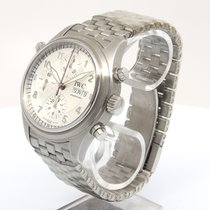 IWC Fliegeruhr Doppelchronograph neu Automatik Chronograph Nur Uhr IW3713-48