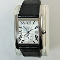 Cartier Tank MC Steel Silver Roman numerals United States of America, Illinois, Chicago