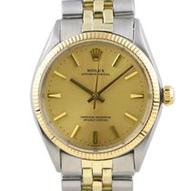 Rolex Oyster Perpetual 34 Steel 34mm Champagne No numerals United States of America, Florida, Boca Raton