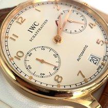 IWC Portuguese Automatic Rose gold 42mm Silver Arabic numerals United States of America, Washington, SEATTLE