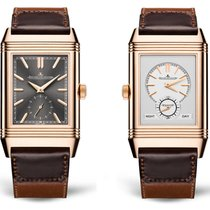 Jaeger-LeCoultre Reverso Duoface new 2019 Manual winding Watch with original box and original papers 396245J