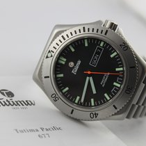 Tutima Steel 42mm Automatic 677-01 pre-owned