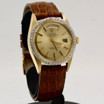 Rolex 1803 Yellow gold 1967 Day-Date 36 36mm pre-owned