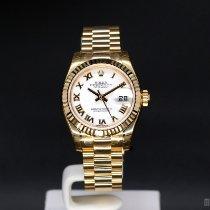 Rolex nuevo Automático Quick set/cambio rápido 26mm Oro amarillo Cristal de zafiro