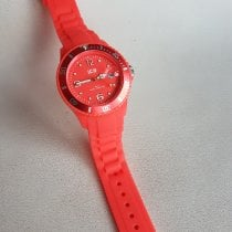Ice Watch Plastic Quartz Pink Roman numerals new