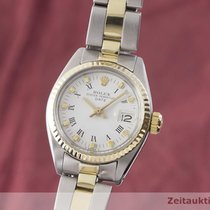 Rolex Lady-Datejust Aur/Otel 26mm Alb