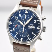 IWC Pilot Chronograph Steel 43mm Blue Arabic numerals United States of America, Ohio, Mason