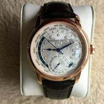 Frederique Constant Manufacture Worldtimer new 2016 Automatic Watch with original box FC-718WM4H4