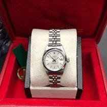 Rolex Oyster Perpetual Lady Date neu 2001 Automatik Uhr mit Original-Box 79160