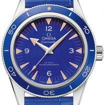 Omega Platinum Automatic Blue 41mm new Seamaster 300