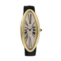 Cartier Baignoire Yellow gold 24mm White United States of America, New York, New York