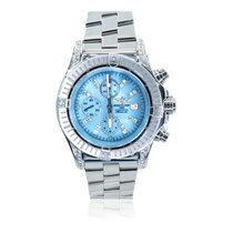 Breitling Super Avenger Steel 48mm Blue Arabic numerals United States of America, Michigan, Southfield