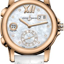 Ulysse Nardin Dual Time Rose gold 37.5mm Mother of pearl United States of America, New York, Airmont