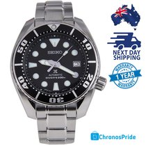 Seiko Prospex Steel 44mm Black Australia, Kingsdene