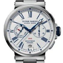 Ulysse Nardin Marine Chronograph 1533-150-7M/E0 2020 новые