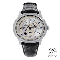 Audemars Piguet Millenary Platinum 47mm White Arabic numerals United States of America, New York, New York